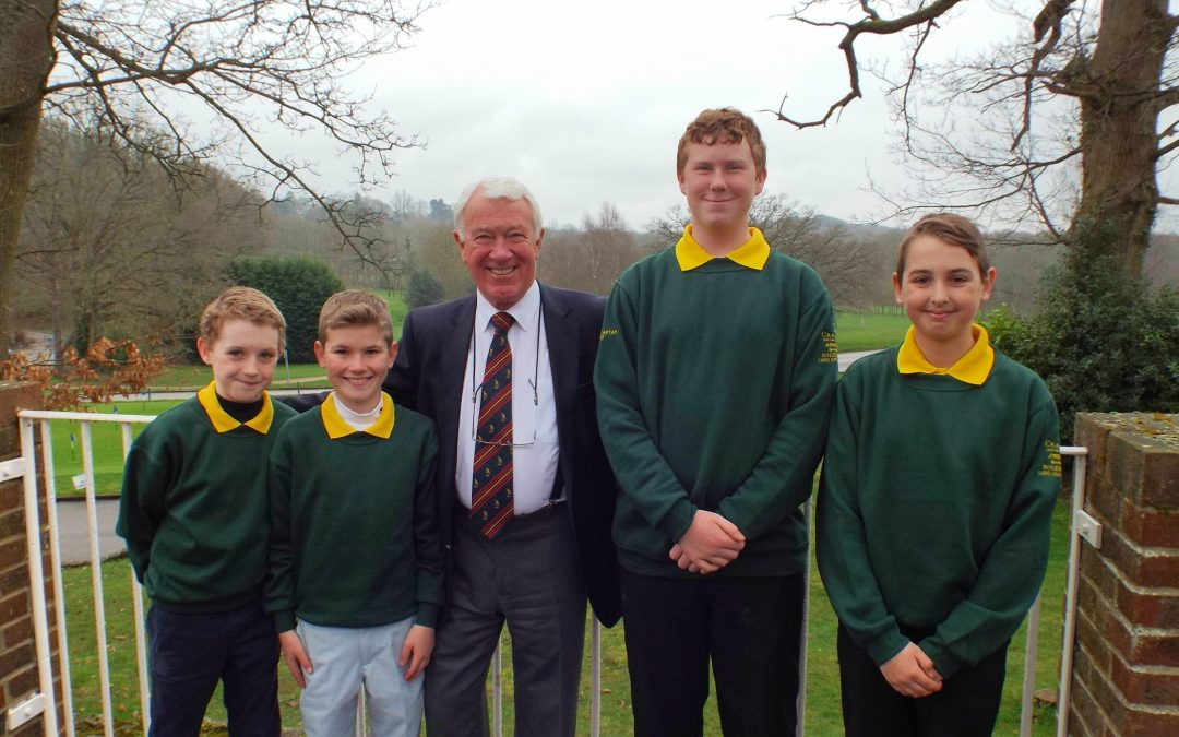 CRANLEIGH JUNIORS BACK IN BUSINESS